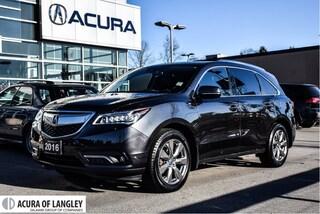 2016 Acura MDX Elite SUV