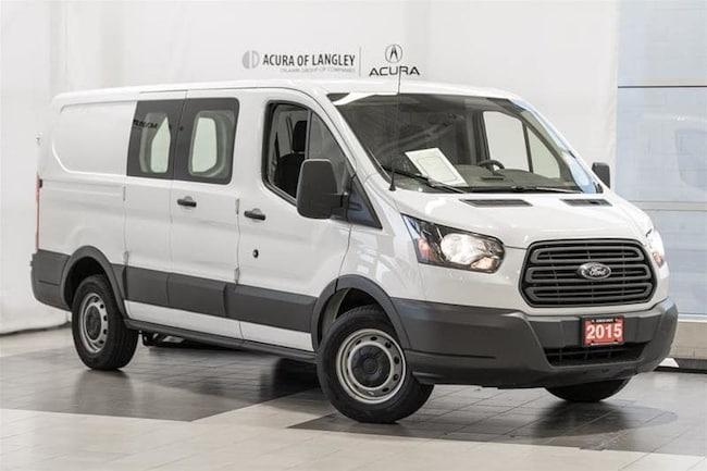 2015 Ford Transit 150 Van 130 WB - Low Roof - 60/40 Pass.Side Cargo Van Low Roof Cargo Van