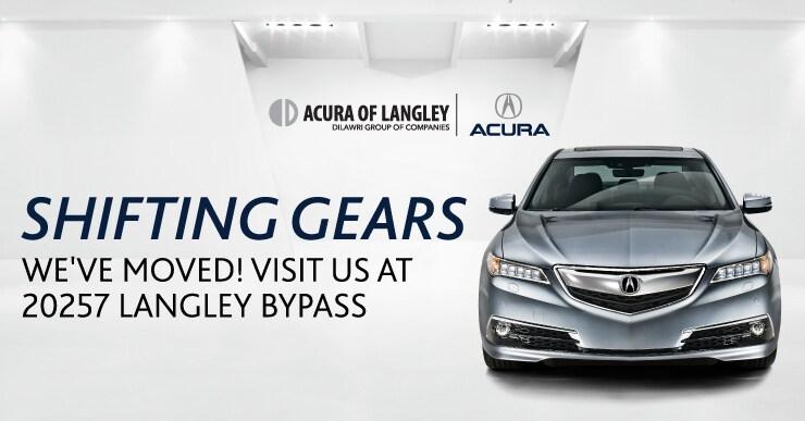 Acura Of Langley New Acura Dealership In Langley BC VA K - Acura parts dealer