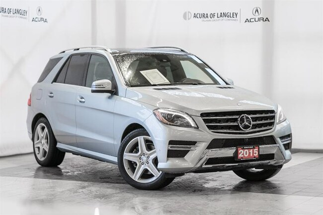 2015 Mercedes-Benz ML350 Bluetec 4matic SUV Not all ML350s are the Same!  M SUV