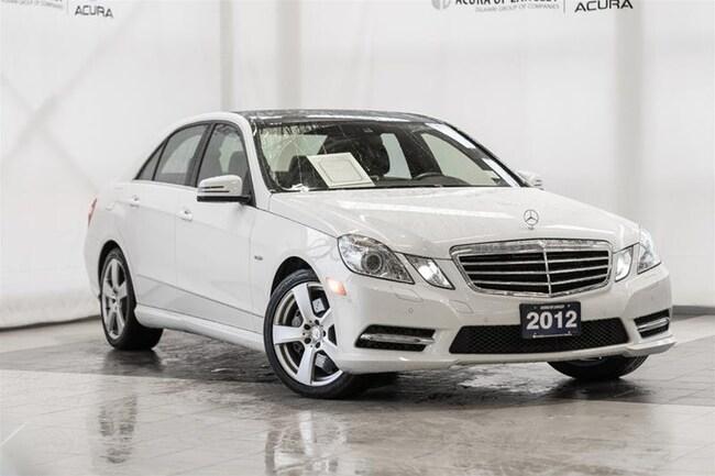 2012 Mercedes-Benz E350 4matic Sedan Sedan