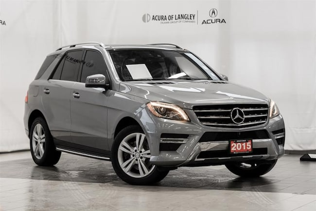 2015 Mercedes-Benz ML350 Bluetec 4matic SUV SUV