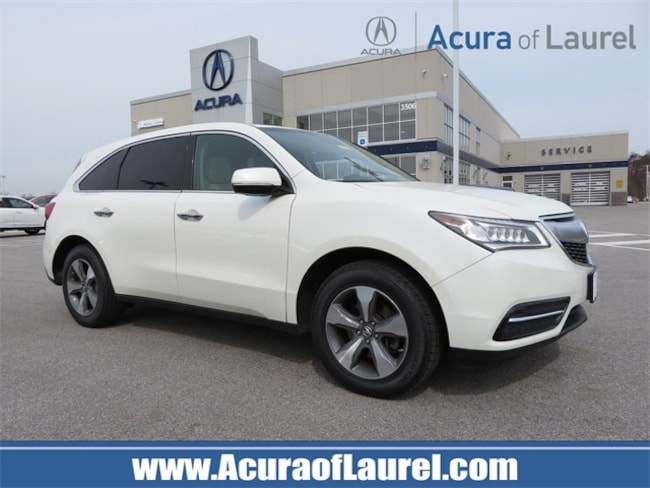 Used 2016 Acura MDX MDX SH-AWD SUV Ellicott City