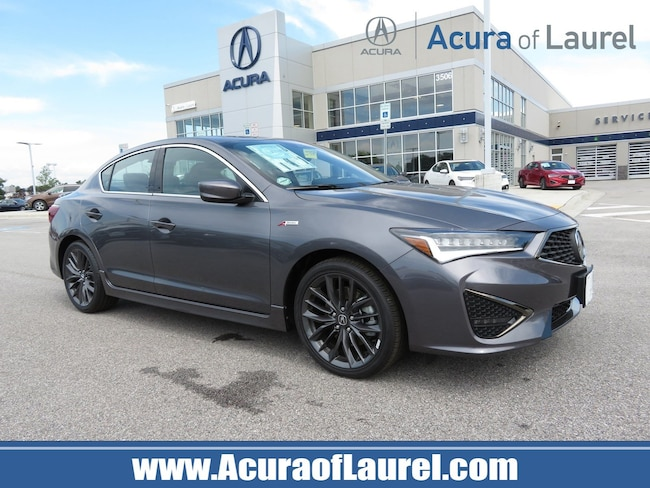 2019 Acura ILX with Premium and A-Spec Package Sedan