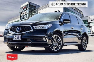 2017 Acura MDX 6P at Elite Complimentary Scheduled Maintenance fo VUS