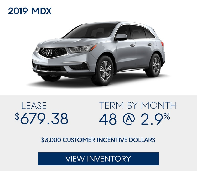 Leasing Acura: New Vehicle Specials