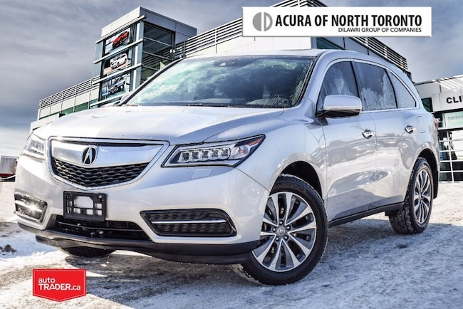 2015 Acura MDX Navigation at Acura Certified | No Accident| Blind SUV