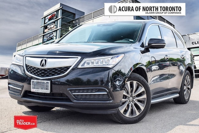 2015 Acura MDX Navigation at Acura Certified! Running Board| Wint SUV