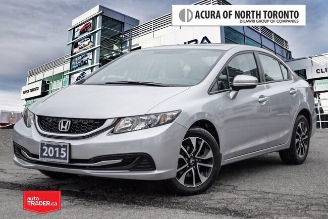 2015 Honda Civic Sedan EX CVT No Accident| Back-Up Camera Sedan