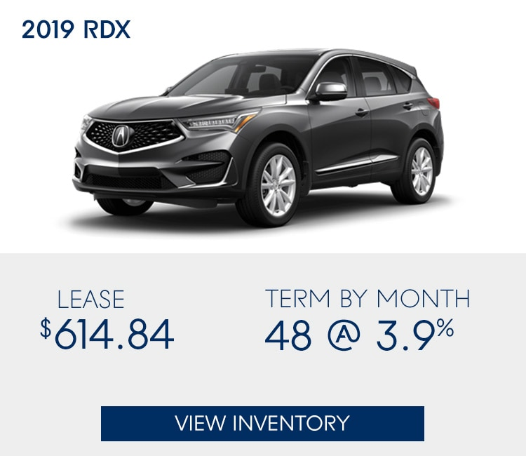 2019 Acura Rdx Lease Specials: New Vehicle Special Offers At Acura Of North Toronto