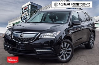 2016 Acura MDX Navi 7yrs/130000kms Certified Warranty Included SUV