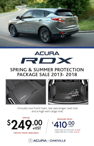 RDX 2019 Spring and Summer Protection Package