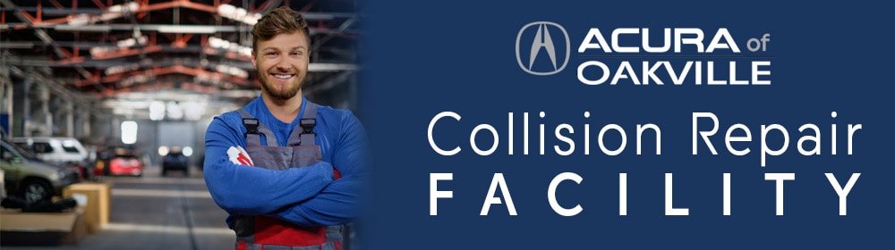 Collision Repair Facility - Acura of Oakville