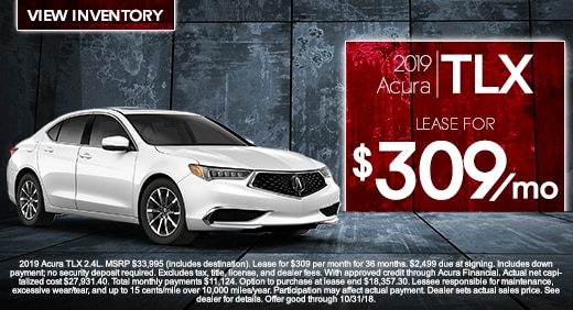 New Acura Special Offers In Jacksonville FL Acura Of Orange Park - Acura ilx lease deals