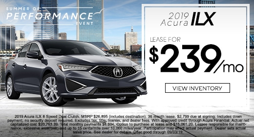 New Acura Special Offers In Jacksonville Fl Acura Of