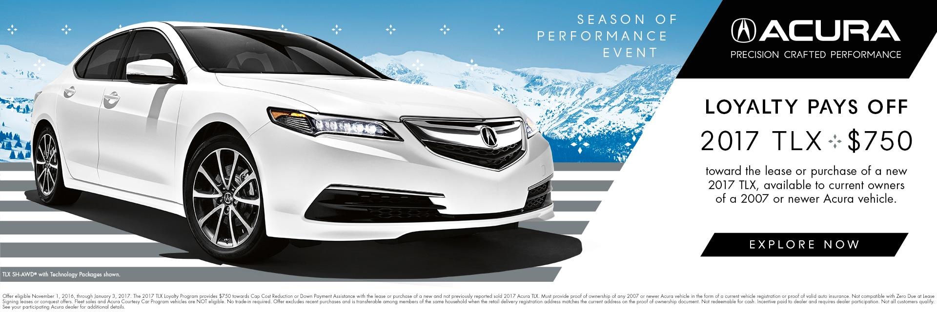 Acura Loyalty | Acura Car Dealership | Near Andover, MA
