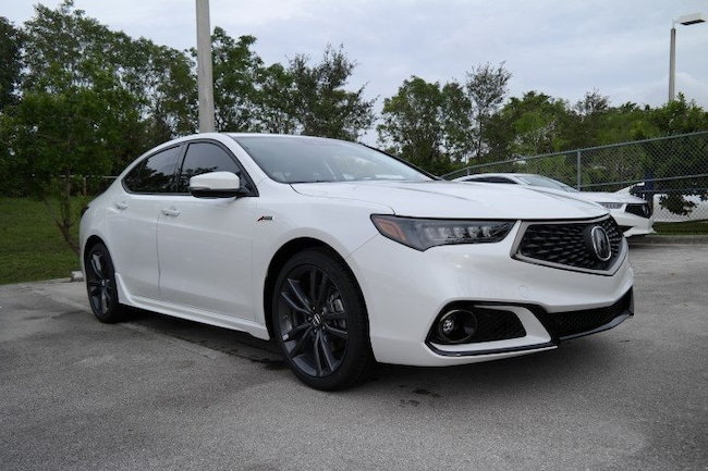 New 2019 Acura TLX 2.4 8-DCT P-AWS with A-SPEC Sedan in Pembroke Pines