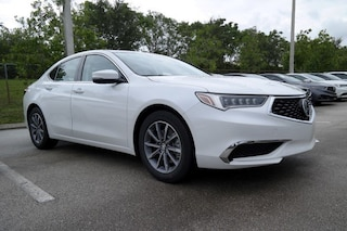 Lease a new 2019 Acura TLX 2.4 8-DCT P-AWS Sedan near Miami, Florida
