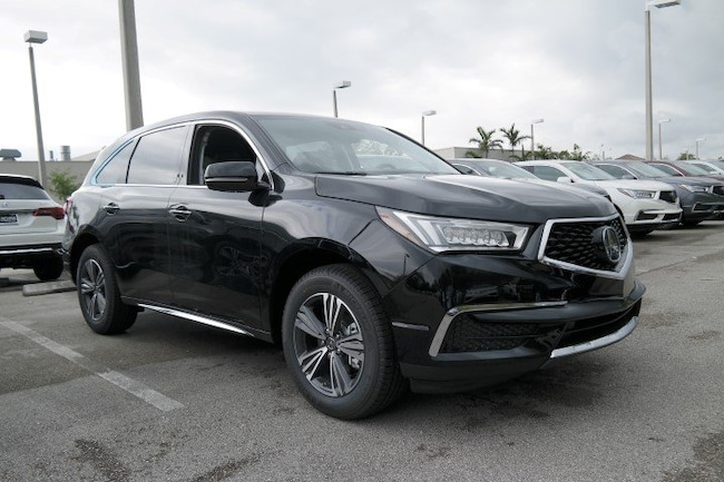 New 2018 Acura MDX SH-AWD SUV in Pembroke Pines