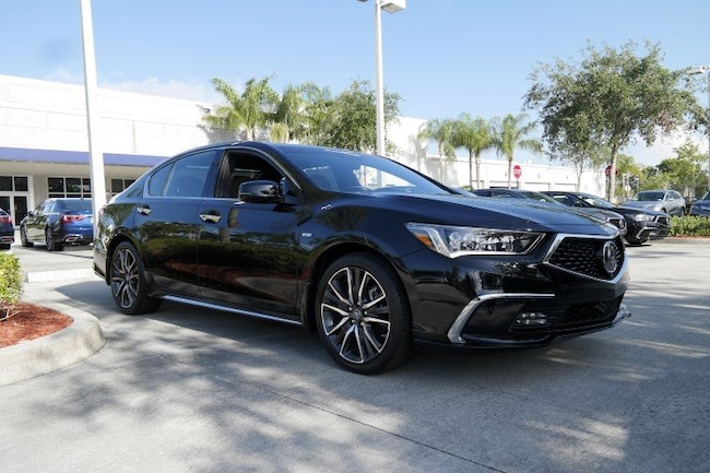 New 2018 Acura RLX Sport Hybrid SH-AWD with Advance Package Sedan in Pembroke Pines