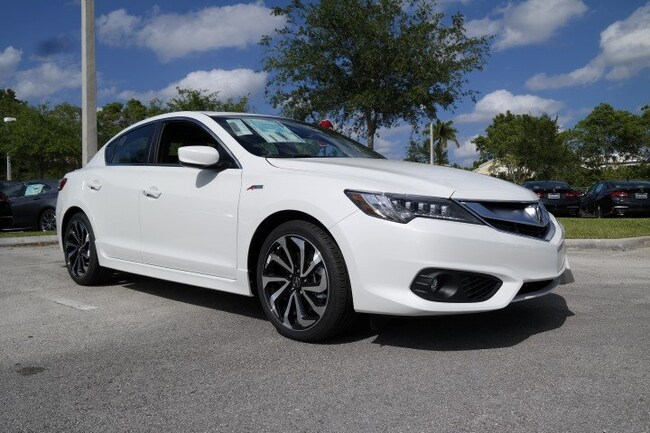 New 2018 Acura ILX with Premium and A-SPEC package Sedan in Pembroke Pines