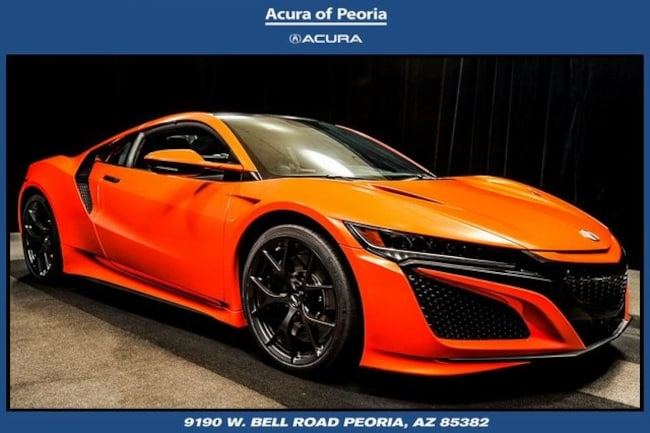 Used Acura Nsx For Sale >> Used Thermal Orange Pearl 2019 Acura Nsx Premium Sh Awd For