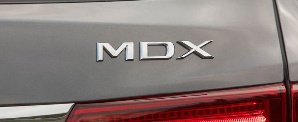 Acura MDX Badge