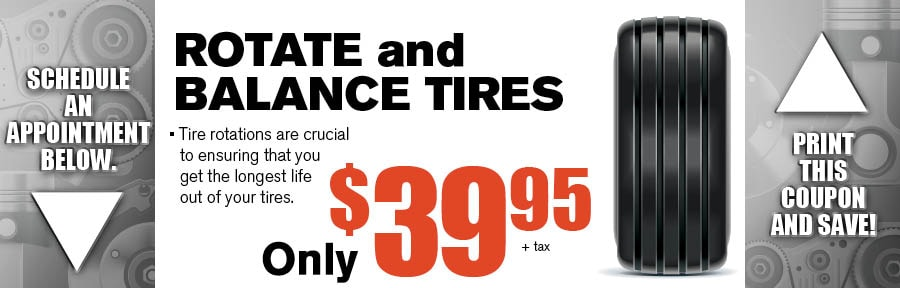 Discount tire balance and rotation coupon