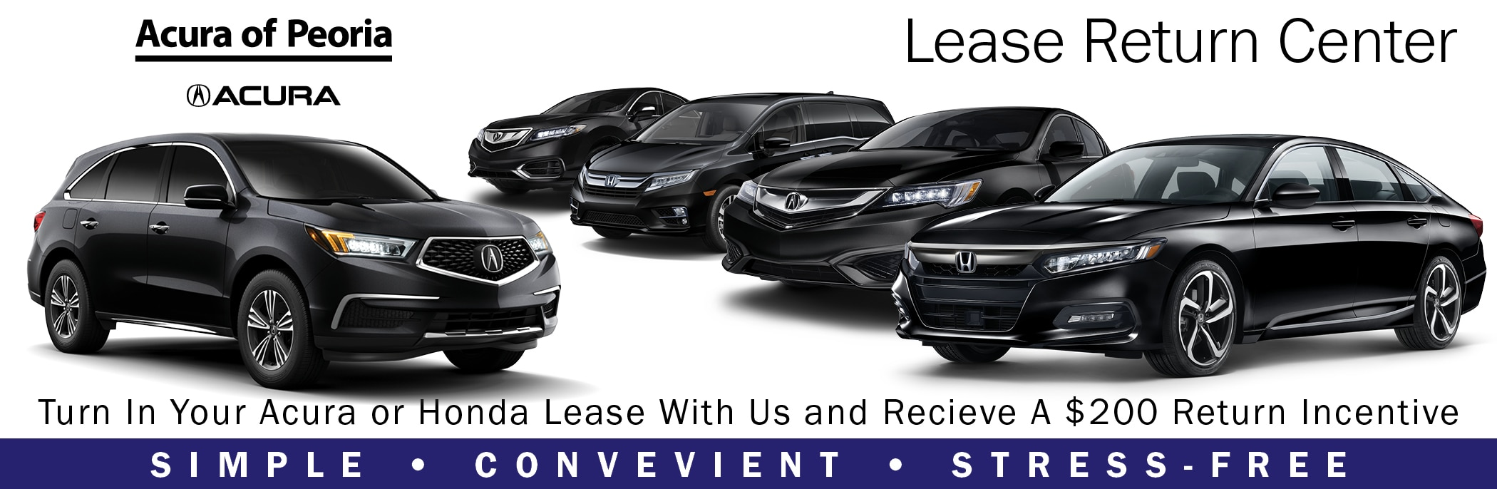 Is The Lease On Your Acura Or Honda Coming To An End Soon? Have You  Considered Your Options? Itu0027s Simple. Let Acura Of Peoriau0027s Lease Return  Team Walk You ...