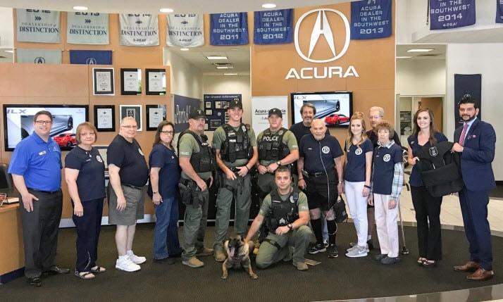 Acura Of Peoria >> Acura Of Peoria Donates Bullet Proof Vest To Peoria K9 Unit