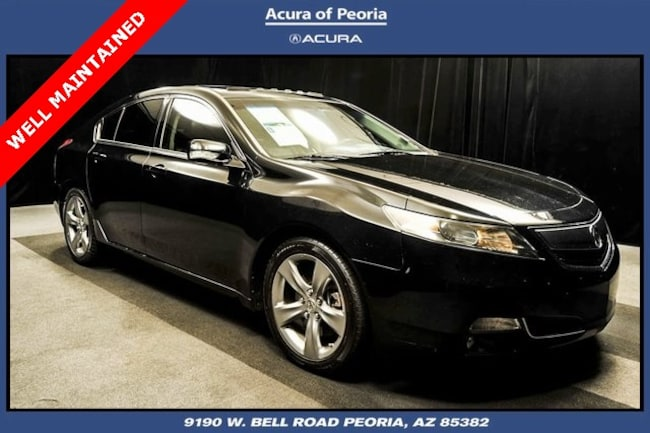 2012 Acura TL 3.5 Advance Package Sedan