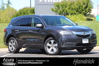 Certified Pre-Owned 2016 Acura MDX 4DR FWD SUV A8637 for sale in Pleasanton, CA
