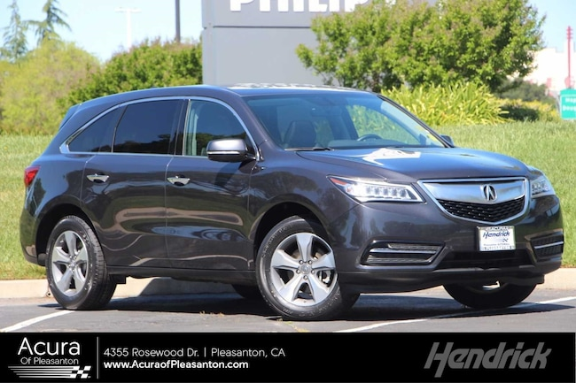 Certified Pre-Owned 2016 Acura MDX 4DR FWD SUV for sale in Pleasanton, CA