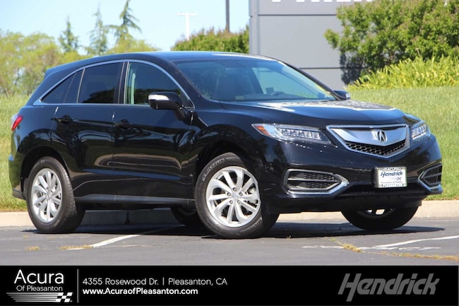 Certified Pre-Owned 2016 Acura RDX Tech Pkg SUV for sale in Pleasanton, CA