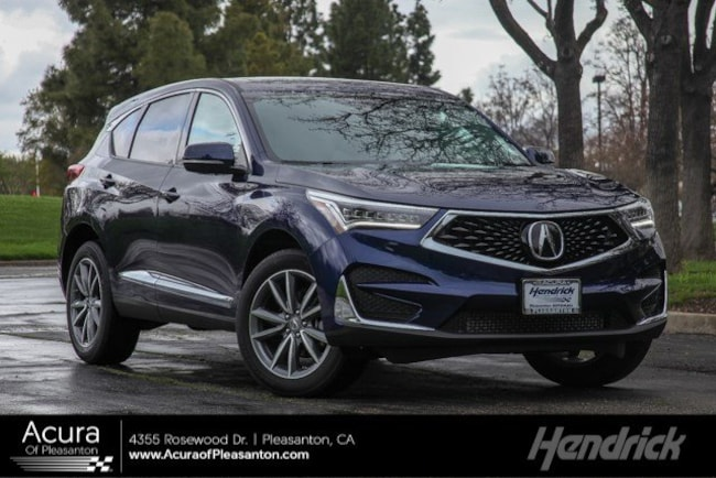 New 2020 Acura RDX SH-AWD with Technology Package SUV for sale in Pleasanton, CA