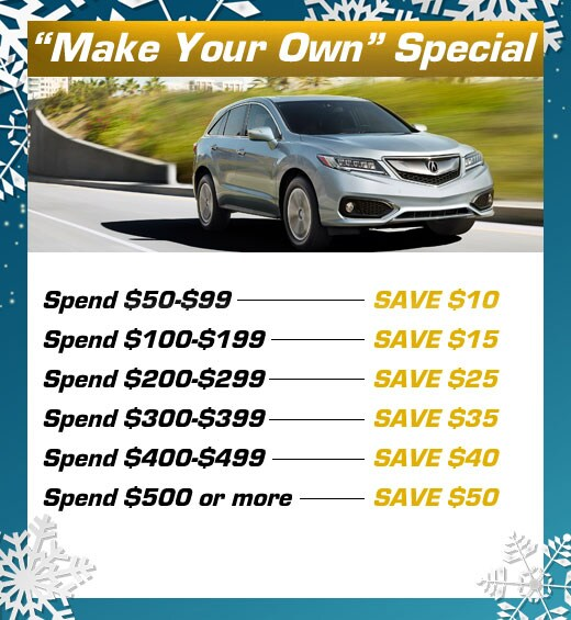 Acura Service Specials Near Oakland