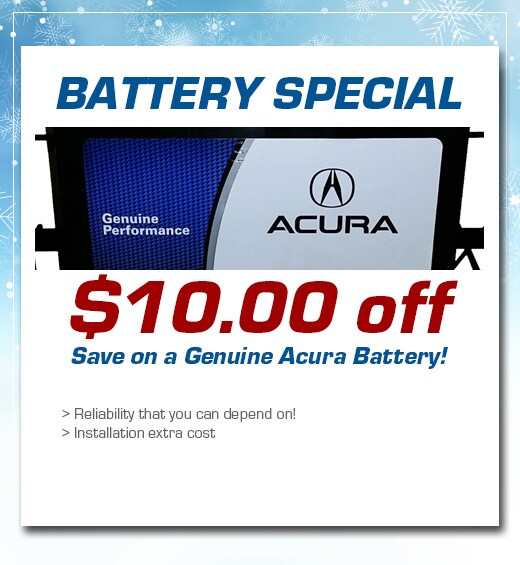 Acura Parts Specials Near Oakland
