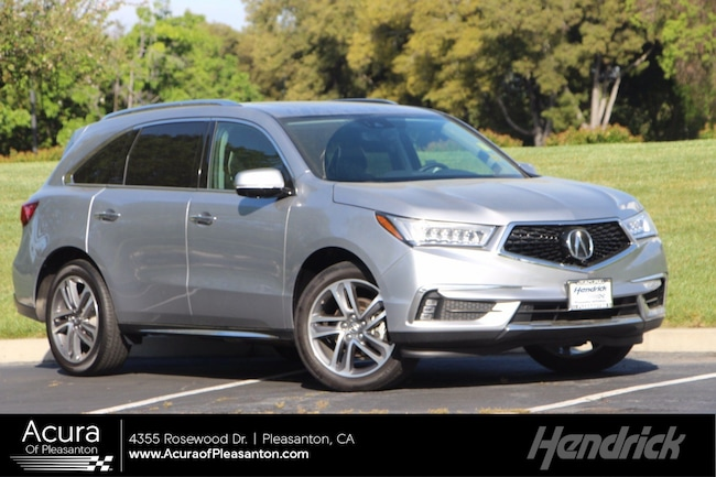 Certified Pre-Owned 2018 Acura MDX w/Advance/Entertainment Pkg SUV for sale in Pleasanton, CA