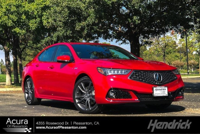 New 2019 Acura TLX 3.5 V-6 9-AT SH-AWD with A-SPEC RED Sedan for sale in Pleasanton, CA