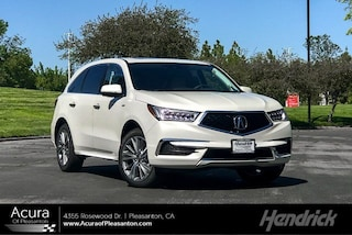New 2019 Acura MDX Sport Hybrid SH-AWD with Technology Package SUV 291104 for sale in Pleasanton, CA