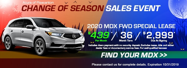 2020 MDX Special Lease