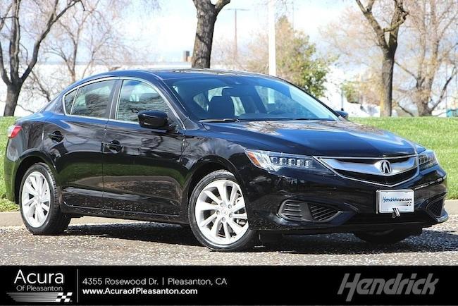 Certified Pre-Owned 2016 Acura ILX w/Technology Plus Pkg Sedan for sale in Pleasanton, CA