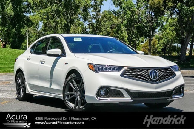 New 2019 Acura TLX 3.5 V-6 9-AT P-AWS with A-SPEC RED Sedan for sale in Pleasanton, CA