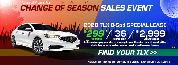 2020 TLX Special Lease