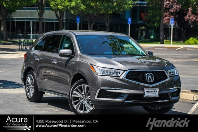 Certified Pre-Owned 2018 Acura MDX w/Technology Pkg SUV for sale in Pleasanton, CA