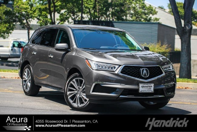 New 2019 Acura MDX SH-AWD with Technology Package SUV for sale in Pleasanton, CA