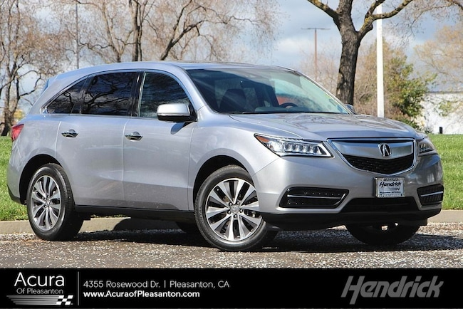 2016 Acura Mdx For Sale >> Certified Pre Owned 2016 Acura Mdx For Sale In Pleasanton Ca
