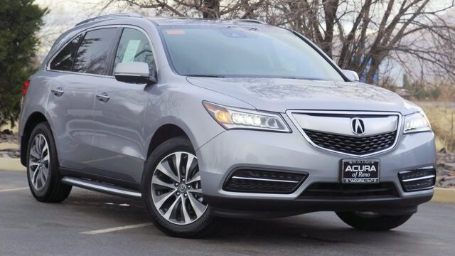 Acura Of Reno >> New 2016 Acura Mdx Sh Awd With Technology Package For Sale In Reno