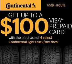 Get Up to $100 Back* via Mail-in Rebate
