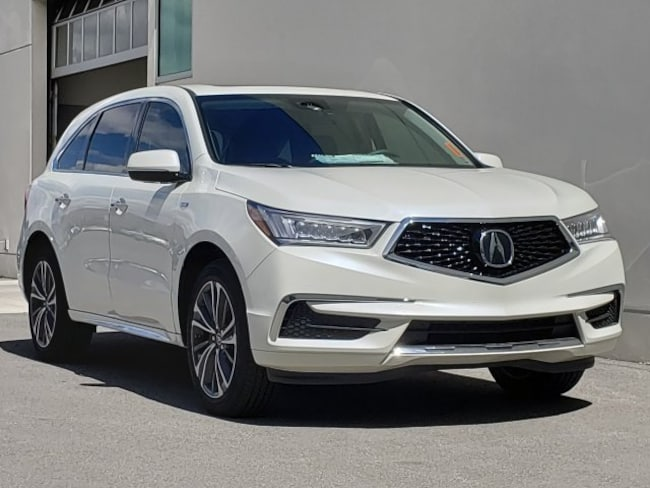 new 2019 Acura MDX Sport Hybrid SH-AWD with Technology Package SUV Reno, NV